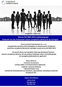 Oferta dost ISO 9001