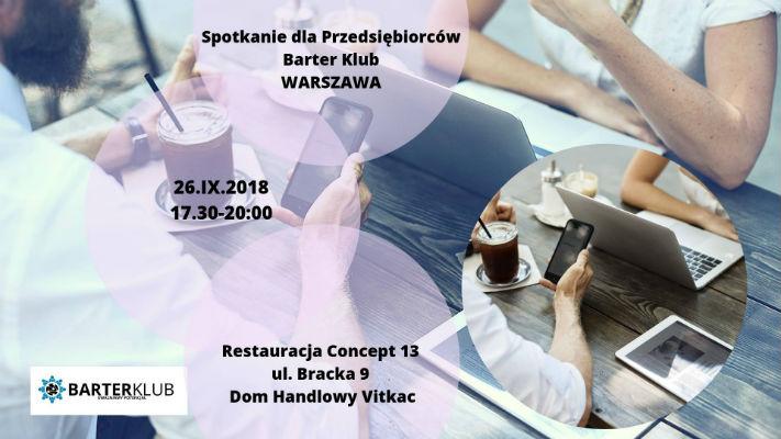 Spotkanie w Warszawie BarterKlub